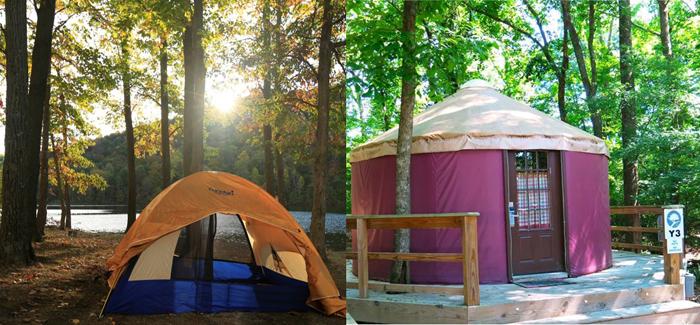 Camping vs glamping : que choisir ?