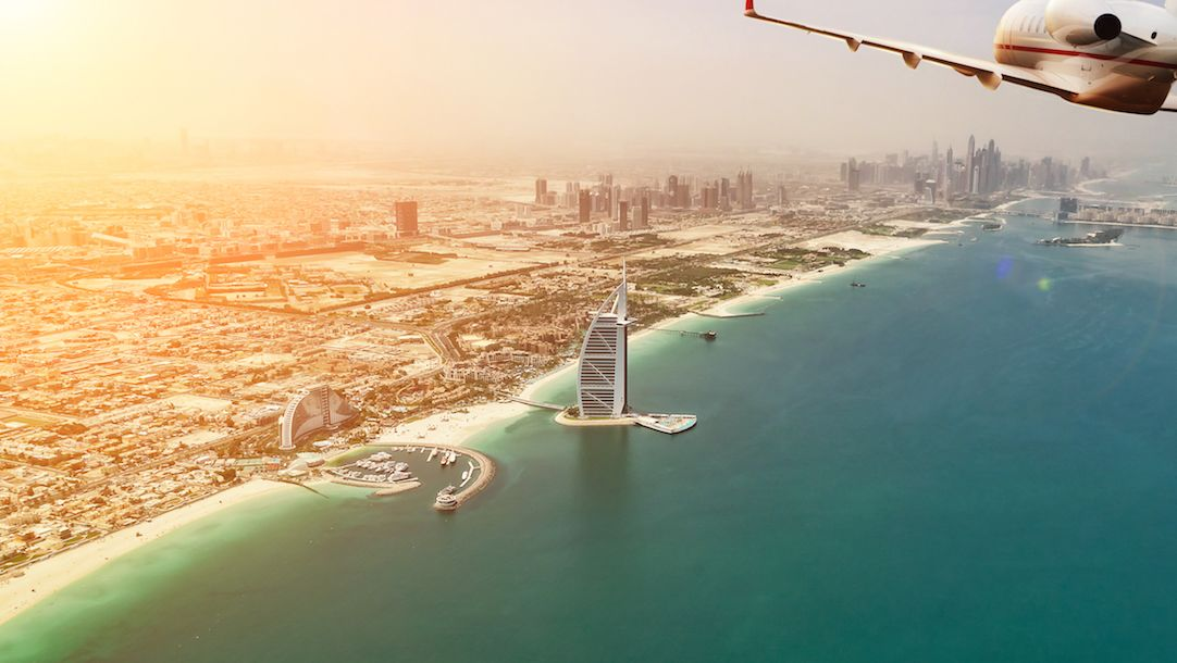 Prenez un billet d'avion pour Dubaï