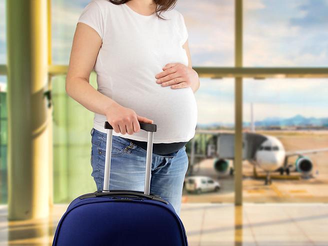 Moyen de transport pour femme enceinte